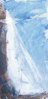 Freie Malerei Segel 30x60 auf Segeltuch PM