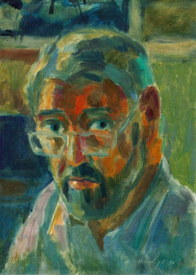 Kurt Hediger, Selbstbildnis