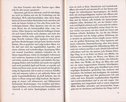 """Aus: """"Der Spaziergang"""" von Robert Walser. Foto: Richard Frankenberger"""