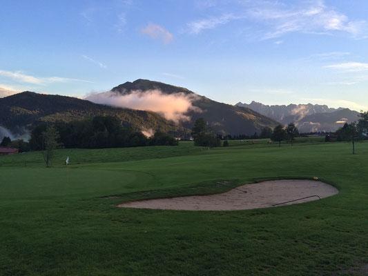 Golfplatz Reit im Winkl-Kössen, Loch 5