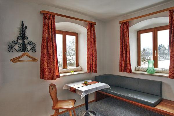 Sitzecke in Zimmer 2