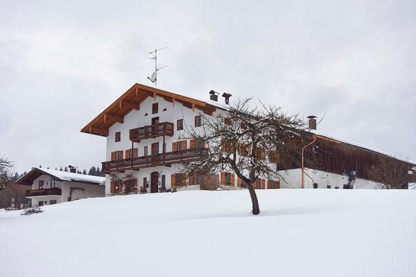 Das Haus Beim Zenz im Winter