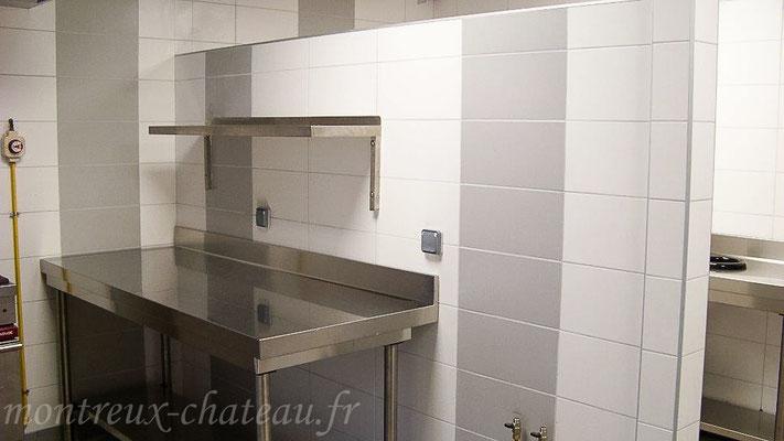 Mars 2016 - Rénovation cuisine et vestiaire