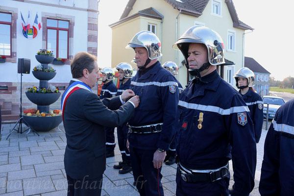 Mercredi 11 novembre 2015 - Promotion au grade de sergent pour Michel Szabo