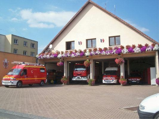 Ancien (1980-2016) centre d'incendie et de secours de Montreux-Château