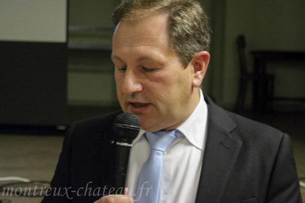 Vendredi 15 janvier 2016 - Laurent Conrad, maire de Montreux-Château