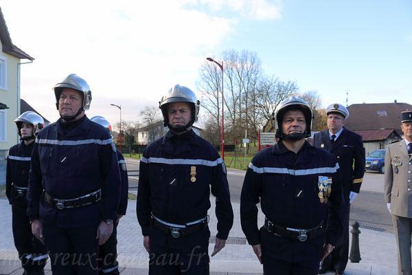 Mercredi 11 novembre 2015 - Promotion au grade de sergent pour Michel Szabo, David Carel et Jean-Michel Ledi