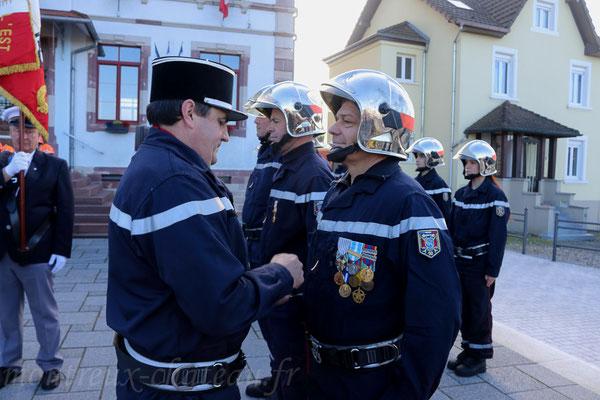 Mercredi 11 novembre 2015 - Promotion au grade de sergent pour Jean-Michel Ledi