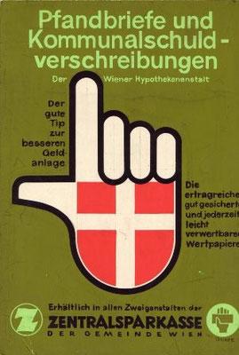 Pfandbriefe und Kommunalschuldverschreibungen. Wien um 1960.