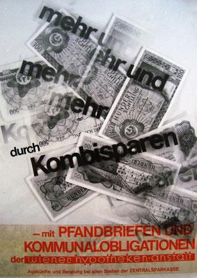 Entwurf. Pfandbriefe und Kommunalschuldverschreibungen Wien (um 1967).