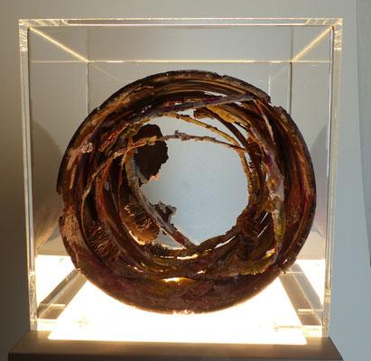 Lichtobjekt, 30 x 30 x 19 cm, verkauft