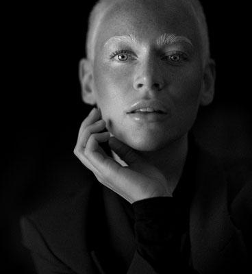 "Inga Klaassen, Model and PR Manager, Face of the ""Düsseldorf Fasion Days 2021"", 2021"