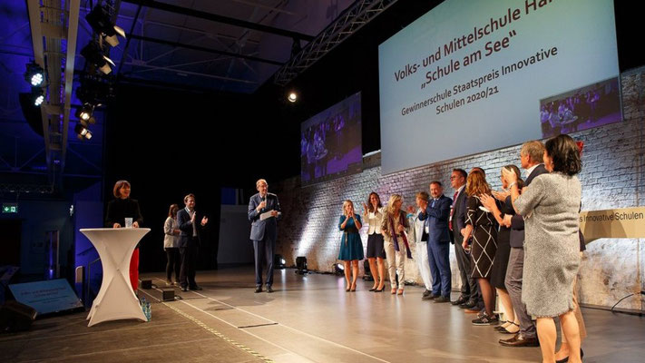 """Schule am See"" gewinnt Staatspreis INNOVATIVE SCHULEN 2020/21"
