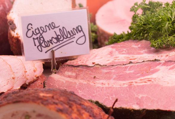 Fleischerei Eckart - eigene Herstellung feinster Fleisch- und Wurstwaren