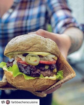Burger Buns und Patties