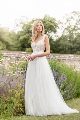 Brautkleid leicht fallender Tüll Kelsey Rose Brautmoden Per Sempre