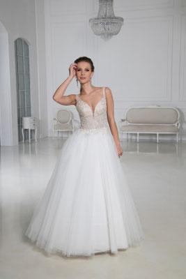 Brautkleid V-Ausschnitt, Träger Natali Bridal Brautmoden Per Sempre