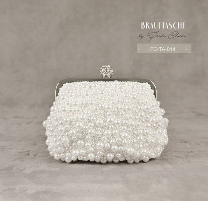 Brauttasche mit Perlen