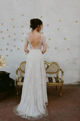 Tiefer Rückenausschnitt Nadia Manzato Brautmoden Per Sempre