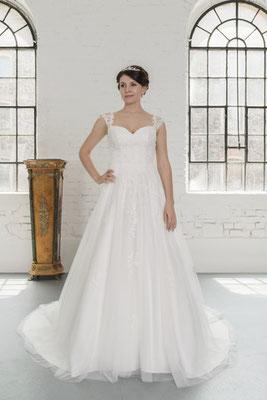 Brautkleid Spitze für große Größen Fuchs Moden Brautmoden Per Sempre
