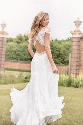 Brautkleid mit Spitze, toller Rücken Kelsey Rose Brautmoden Per Sempre