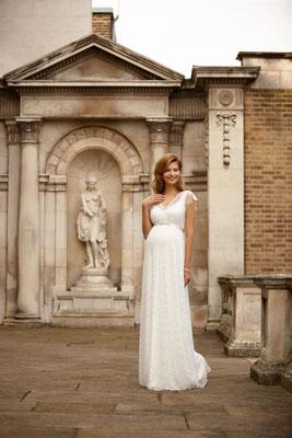 Brautkleid Schwangere Tiffany Rose Spitze Brautmoden Per Sempre