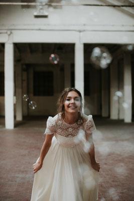 Brautkleid Spitze Nadia Manzato Brautmoden Per Sempre