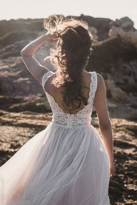 Brautkleid Fara Sposa Vintage Brautmoden Per Sempre