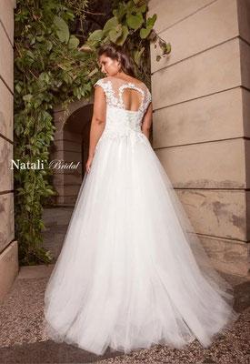 Brautkleid A-Linie Tüll Natali Bridal Brautmoden Per Sempre