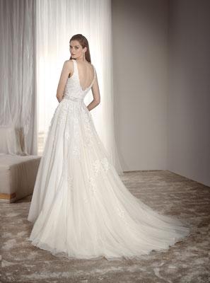 Brautkleid Fara Sposa mit Spitze Brautmoden Per Sempre