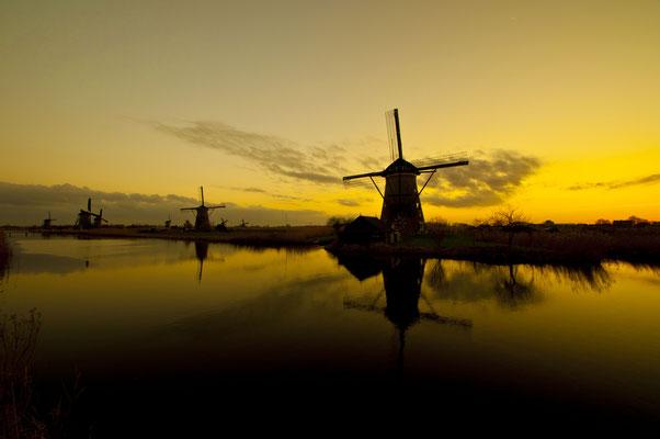 The Netherlands Kinderdijk