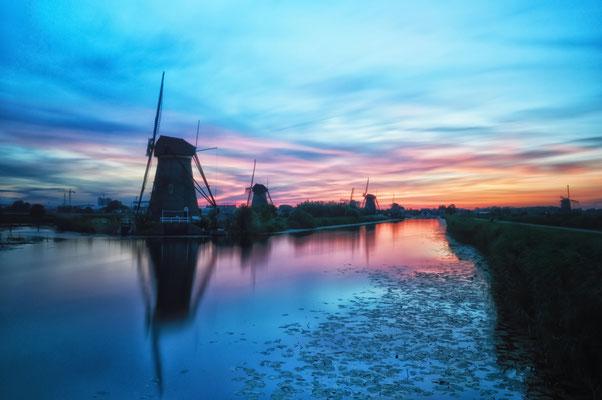 Kinderdijk The Netherlands Mills Molens