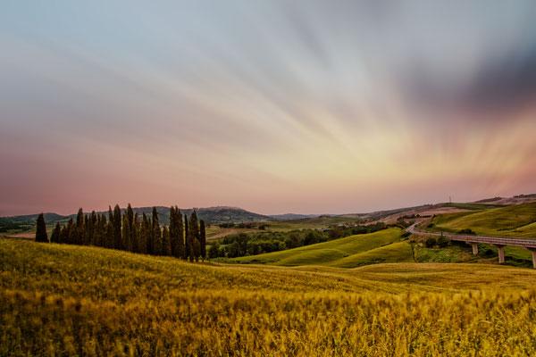 Tuscany San Quirico Italy Landscape