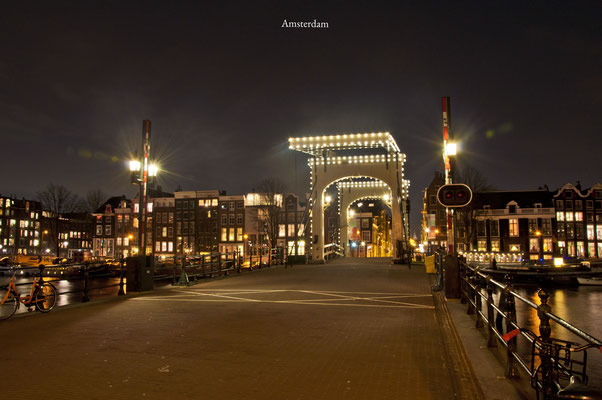 Amsterdam Magere brug The Netherlands