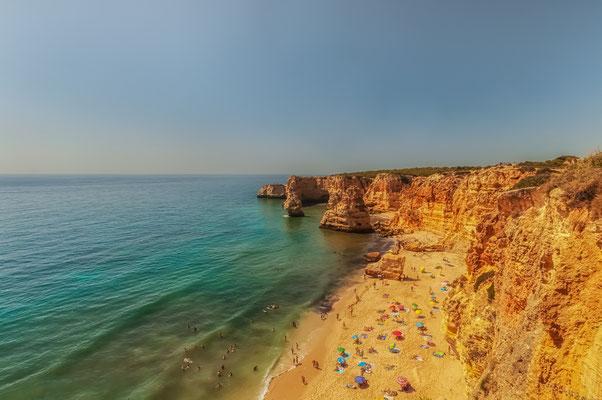 Portugal Algarve Praia de Marinha Waterscape