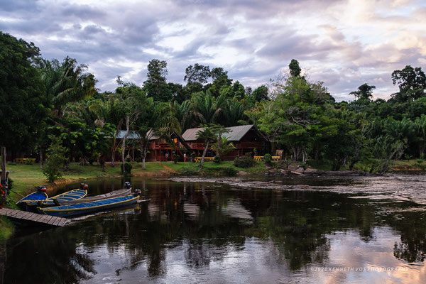 Suriname Menimi WaterscapeWaterscape