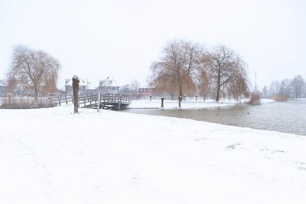 Gorinchem Snow Winter Wonderland Landscape