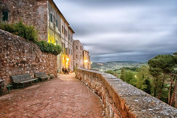 Pienza Tuscany ItalyCityscape