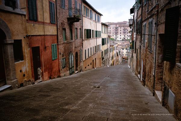 Siena Tuscany Italy Cityscape