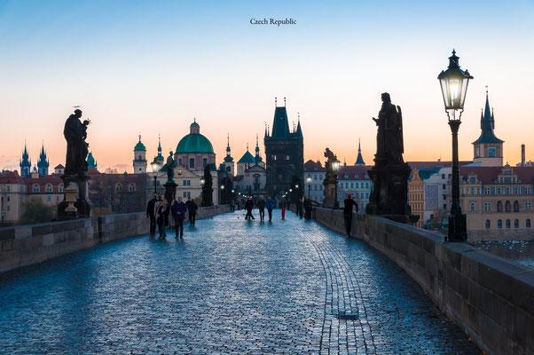 Prague Czechoslovakia Cityscape
