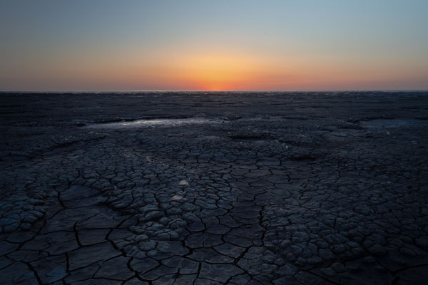 Waddenzee Wadden Sea Landscape Netherlands Sunset