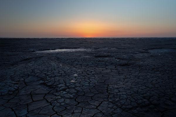 Waddenzee Wadden Sea Landscape Netherlands Sunset Landscape