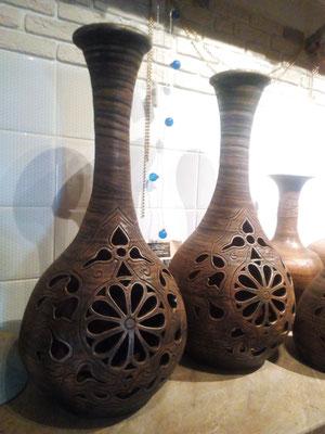 турецкие бани хамам изготовление ваз, гончарная мастерская
