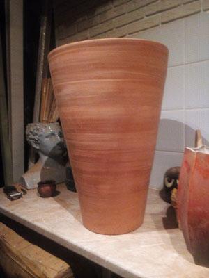 большие глиняные горшки изготовление