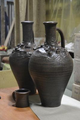 гончарная мастерская изготовление глиняных кувшинов