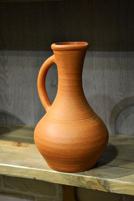 изготовление глиняных горшков кувшинов, гончарная мастерская