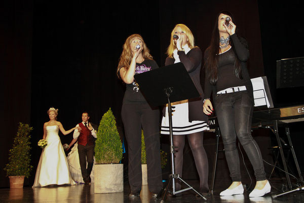 Sängerinnen auf der Hochzeitsmesse Speyer