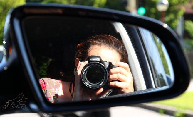 Ich beim  fotografieren