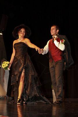 Schwarzes Kleid Hochzeitsmesse Speyer