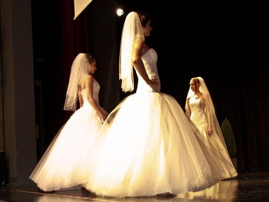 Modenschau auf der Hochzeitsmesse Speyer
